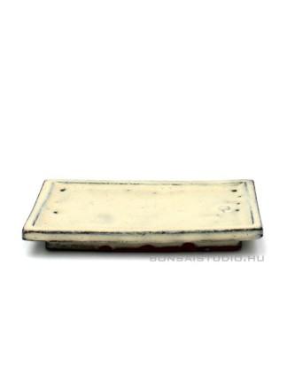 Bonsai alátét 15cm szögletes beige