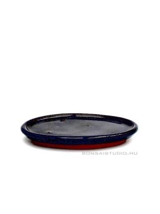 Bonsai alátét 15cm ovális kék