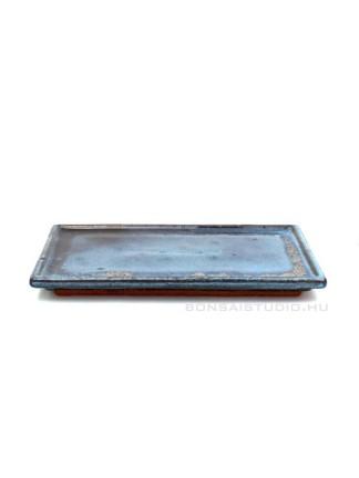 Bonsai alátét 24cm szögletes kék