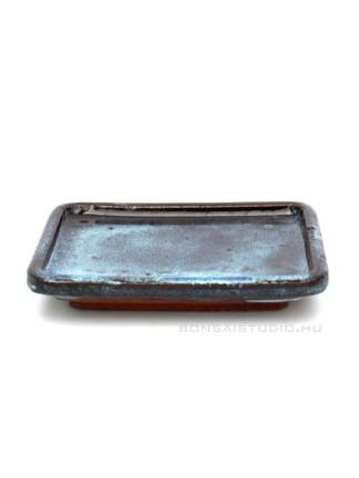 Bonsai alátét 12cm lekerekített sarkú kék