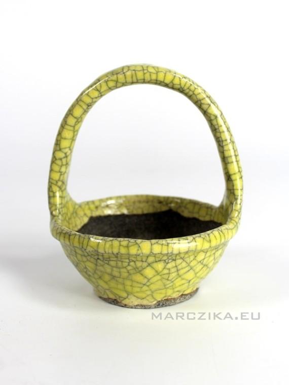 Echizen Bunzan - kusamono pot 10 x 13 cm N25