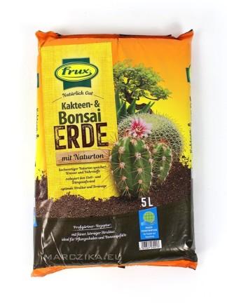 Frux bonsai föld 5 L - talajkeverék kaktuszokhoz és bonsaiokhoz